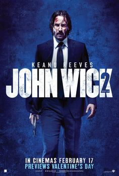JOHN WICK: CHAPTER TWO Releases Three New Posters And A New Clip And TV Spot http://www.themoviewaffler.com/2017/01/john-wick-chapter-two-releases-three.html