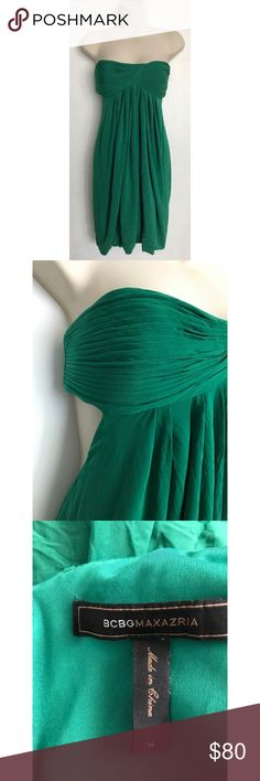 BCBGMaxAzria Strapless Side Revealing Dress Size: Medium. Condition: No defects. Please feel free to ask any questions in the comments! :-) BCBGMaxAzria Dresses