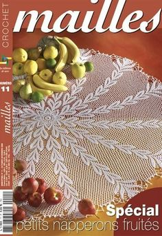 crochet tablecloths magazines | make handmade, crochet, craft - Diagram