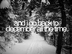 I really do love December