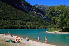 Tenno Lake - the small mountain lake above Riva - northern Lake Garda Holiday Places, Holiday Destinations, Travel Destinations, Places To Travel, Places To See, Lake Photography, Italy Holidays, Lake Garda, Wonders Of The World