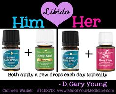 All natural Libido boost. - #libido #essentialoils