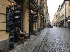 Gamla stan stockholm sweden Cosy cafe