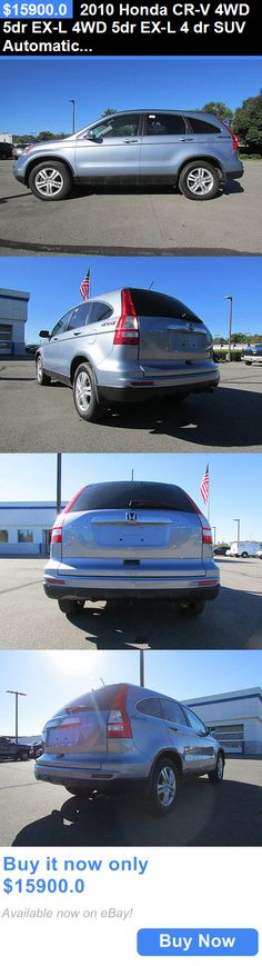SUVs: 2010 Honda Cr-V 4Wd 5Dr Ex-L 4Wd 5Dr Ex-L 4 Dr Suv Automatic Gasoline 2.4L 4 Cyl Glacier Blue Metallic BUY IT NOW ONLY: $15900.0