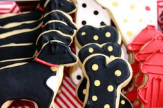 Dog Cookies by DoughWhatchaWanna on Etsy, $20.00