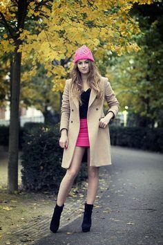 95ed0d0c1bc Pink Autumn (by Lara Rose Roskam) http   lookbook.nu