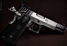 Manufacturer: STI Mod. Eagle 5.0 Type - Tipo: Pistol Caliber - Calibre: 38 Super Capacity - Capacidade: 17 Rounds Barrel length - Comp.Cano: 5 Weight - Peso: 1091...