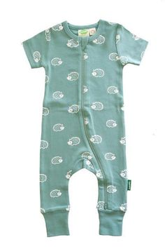 Piccalilly Footless Baby Romper Unisex Boy Girl Organic Cotton Yellow Stripe Bee