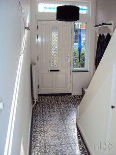 Cement tiles Hall - Negra 12 - Egal Negra S800 - Project van Designtegels.nl