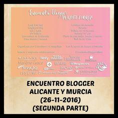 Hola bombones!!! Hoy os traigo post en el blog con la segunda parte del Encuentro Blogger Alicante y Murcia al que asistí. Os espero en el blog con todos los detalles. Besotes! #EncuentrobloggerAliMur #eventoblogger #encuentroblog #blog #blogger #beautyblogger #beautyblog #belleza #beauty