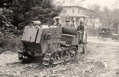 US Army Maxwell 5 ton Artillery Tractor Old Pictures, Old Photos, Old Tractors, American Life, Military Equipment, Panzer, War Machine, World War I, Us Army