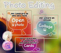 Come incorniciare una foto e creare un watermark on line e free Fotor tutorial