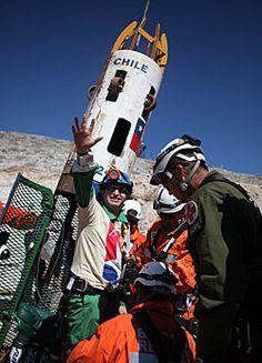 A coal mine tube in Chile.