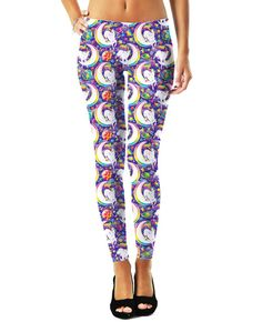 Lisa Frank Unimoon Leggings – RageOn! - World's Largest All-Over-Print Online Store!