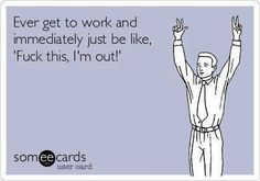 #work #peace #dueces #funny #ecard