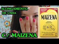 ALONGANDO AS UNHAS COM MAIZENA - PAULA FRANSSINETTE #VEDA - YouTube