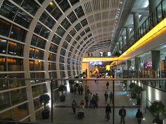 Hong Kong: a modern airport by charclam, via Flickr