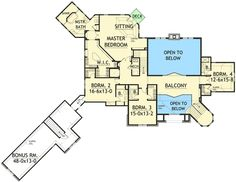 Unique Shape - 12620MH   2nd Floor Master Suite, Bonus Room, Butler Walk-in Pantry, CAD Available, Den-Office-Library-Study, Elevator, European, In-Law Suite, Luxury, MBR Sitting Area, Media-Game-Home Theater, Multi Stairs to 2nd Floor, PDF, Photo Gallery, Sloping Lot, Traditional   Architectural Designs