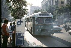 WMATA/DC Transit White Super Power Motor Coach.