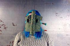 """Olifant"" from mask series;""False Face Society"". By Helene Duckert"