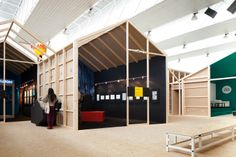24th Amadora BD - International comic festival - architecture project by Coletivo ,i