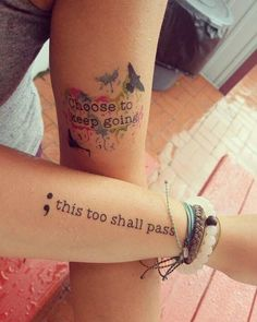 Semicolon Tattoos for Women - Ideas and Designs for Girls