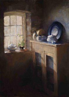 ◇ Artful Interiors ◇ paintings of beautiful rooms - Hege Elisabeth Haugen.