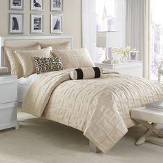 bedding for master bedroom. Cream