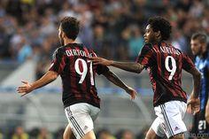 Bertolacci båret fra banen mod Inter!