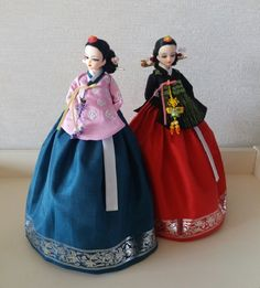 Korean Traditional, Traditional Outfits, Korean Hanbok, Bjd Dolls, Doll Clothes, Snow White, Barbie, Diy Crafts, Disney Princess