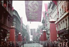 November 9, 1938 march through Munich in remembrance of the Putsch