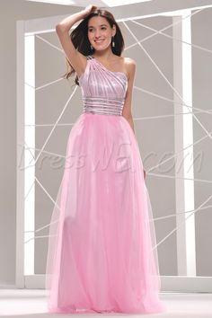 $96.19 Dresswe.com SUPPLIES Pretty One-Shoulder Sequins Ankle-Length Prom/Evening Dress