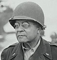 Benjamin O. Davis Sr., soldier who became the first black general in the U.S. Army.  He was promoted to Brigadier General by President Franklin D. Roosevelt in 1940.  During World War II, he headed a special unit charged with safeguarding the status and morale of black soldiers in the army, and he served in the European theatre as a special adviser on race relations.   He retired in 1948 after 50 years of service.