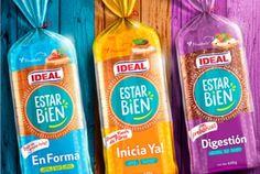 Estar bien | packaging | branding | ideal | bread | chile | by packaging brands