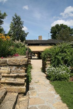 Taliesin East. Frank Lloyd Wright home and Studio. South of Spring Green, Wisconsin. 1911,1914,1925 (remodels after fires)
