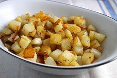 Simple and Crisp Roasted Potatoes Are the Perfect Side Dish Recipe