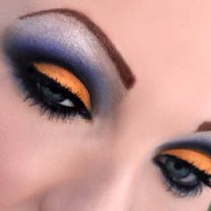 Complimentary Colors - Eye makeup, eyeshadow, art