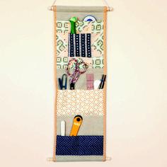 Pocket Wall Caddy Sewing Tutorial