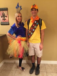 Kevin and Russell. UP costumes. #up #kevinfromup #russellfromup