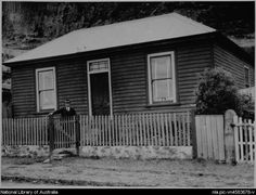 Joseph Lyons standing outside the cottage where he was born, Stanley, Tasmania, ca. Old Pictures, Old Photos, Van Diemen's Land, Stanley Tasmania, Joseph, Melbourne, Vietnam, The Outsiders, Past