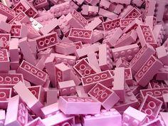 Lego en rosa.