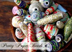 Crafting With Paper Beads