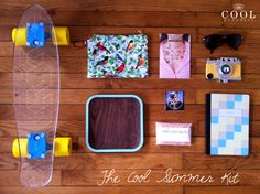 The Cool Summer Kit by The Cool Republic #skateboard #deck #bantam