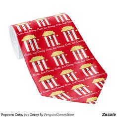 Popcorn Cute, but Corny Neck Tie