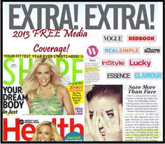 You can't beat free advertisement! One of these little 1/4th page ads are close to $250k. Drs. Rodan and Fields get multiple articles featuring their product and advice EVERY month.... free!