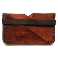 Leather cardholder with a unique danish design  Læder kortholder i et unikt dansk design fra Nabamu Design