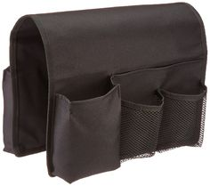 TravelWell Arm Chair Caddy Remote Control Holder Organizer, Black: Amazon.ca: Office Products