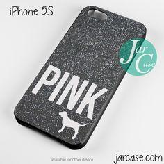 Black Glitter Victoria's Secret Phone case for iPhone 4/4s/5/5c/5s/6/6 plus