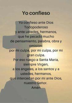 Spiritual Prayers, Spiritual Words, Spiritual Messages, Prayers For Healing, Our Father Prayer, God Prayer, Prayer Quotes, Praying The Rosary Catholic, Catholic Prayers In Spanish