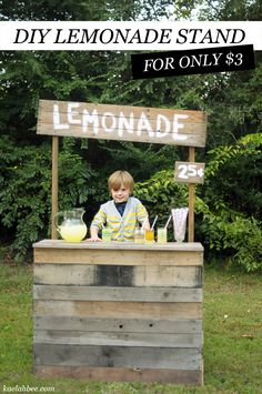"""Thinking of a """"Lemonade Stand"""" birthday party theme for babygirl's 1st birthday. I think I can tackle this DIY!!"""